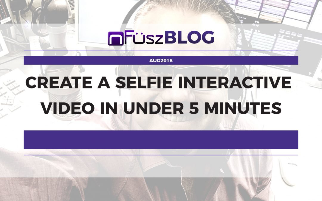 How to Create a Selfie Interactive Video in Under 5 Minutes [iVID] 🖐😎