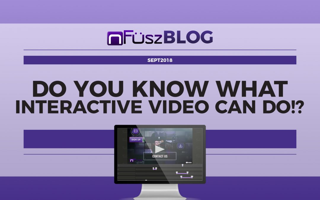 Do you know what interactive video can do?