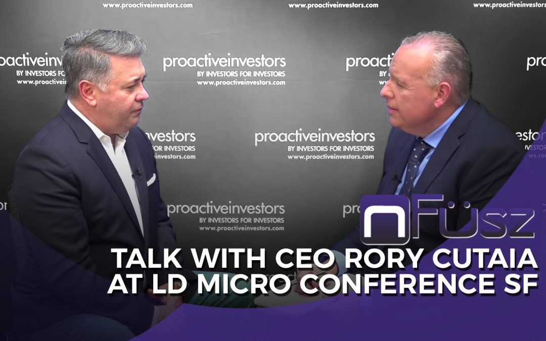 Rory at LD Micro SF (Interview by Proactive Investors)